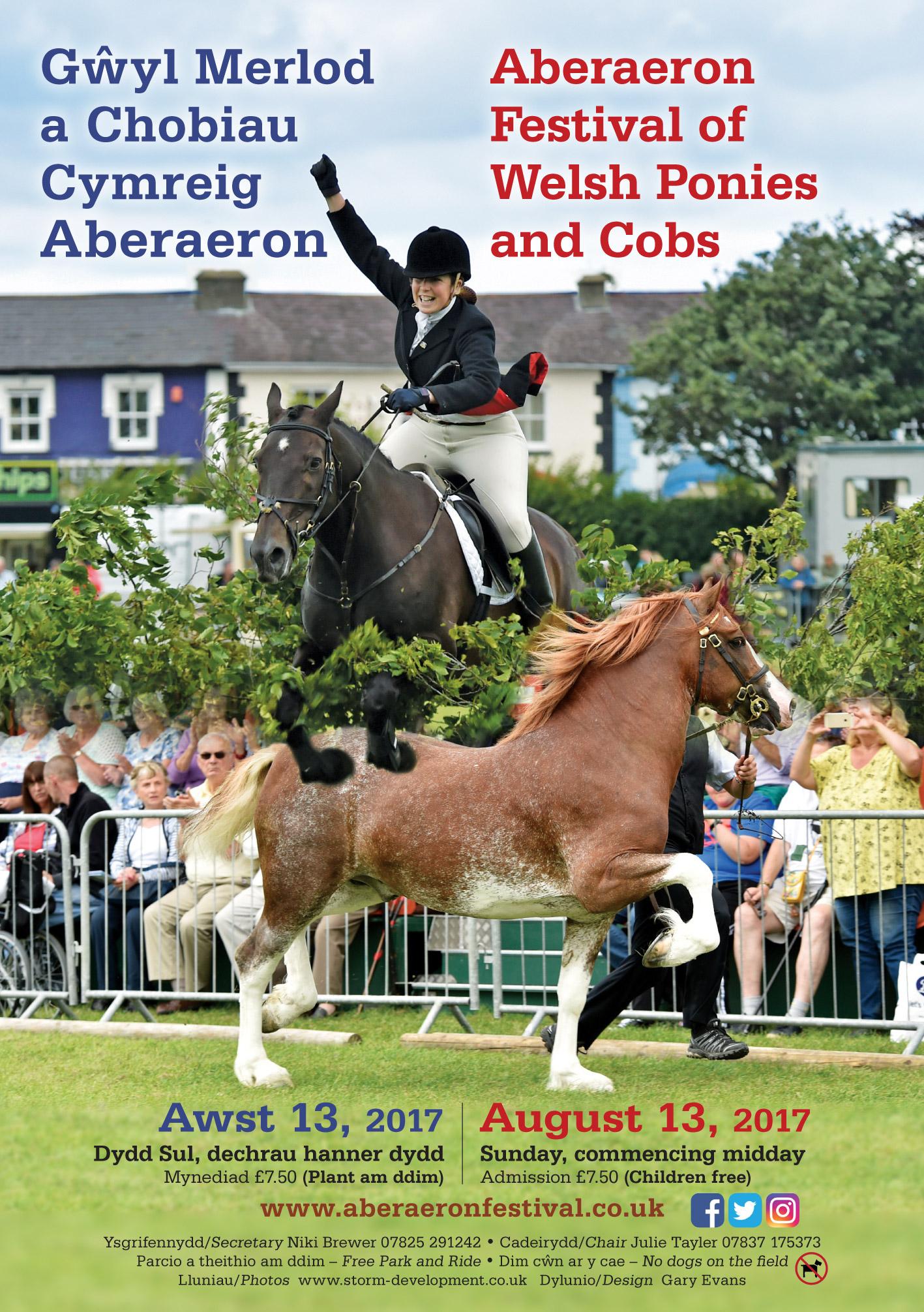 Aberaeron Cob Festival Poster 2017